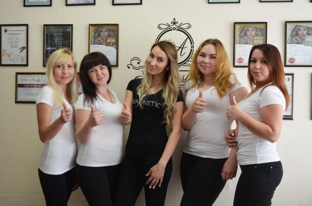 Специалисты школы-студии маникюра «StudioA» в Йошкар-Оле